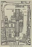 Plan of Old St Paul's