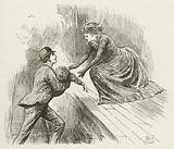 Illustration for Sylvie and Bruno by Lewis Carroll