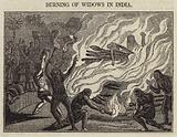 Burning of Widows in India