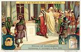 Coronation of the Emperor Charlemagne in Rome, 800