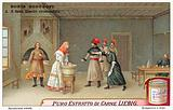 Scene from Modest Mussorgsky's opera Boris Godunov