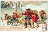 Gold prospectors travelling to the Klondike