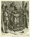 Au Coeur De L'Afrique, Feu Mounza, Roi Des Mombouttous