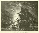 Les Brulots Anglais Attaquant L'Armada