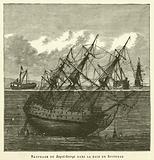 Naufrage Du Royal-George Dans La Baie De Spithead