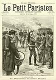 Degradation of Captain Alfred Dreyfus at the Ecole Militaire, Paris