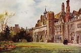 Peterhouse from the Fellows' Garden