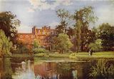 The Lake and New Buildings, Emmanuel College