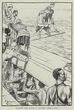 Walking the plank in ancient times