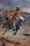 Waterloo, The Charge of the Scots Greys