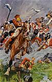 Albuera, Charge of the Polish Lancers in rear of the British
