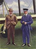 Captain Sir John Alcock and Lieutenant Arthur Whitten Brown
