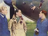 Canadian Fighter Squadron led by Squadron-Leader Douglas Bader, DSO, DFC, …
