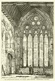 St Etheldreda's Chapel, Ely Place, West Window, Geometrical Tracery