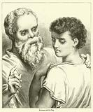 Socrates and his Son