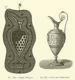 Moule d'un vase, Vase apres fabrication