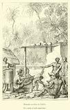 Human sacrifice at Tahiti