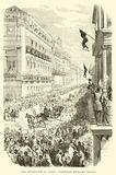The Revolution in Sicily, Garibaldi entering Naples