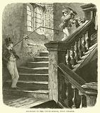 Staircase to the Upper School, Eton College