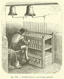 Carillon ancien; mecanisme primitif