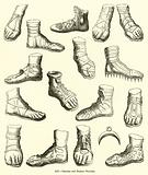 Grecian and Roman Sandals