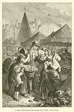 Le Duc de Beaufort et les femmes de la Halle, Guy Patin