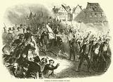 Dissolution du Parlement allemand a Stuttgard