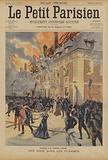 Fire at the Citadel of Arras during a wedding