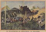 Railway disaster at Villepreux, France