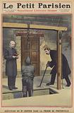 The execution of Dr Crippen in Pentonville Prison, London