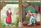 Sardinian woman from Osilo and Persian odalisque