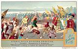 Self-sacrifice of Arnold von Winkelried at the Battle of Sempach, 1386
