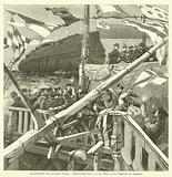 Launch of the Russian battleship Imperator Aleksandr III