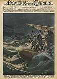 Durante una tempestosa navigazione tra la Sardegna e la Tunisia, il piroscafo italiano Duce …
