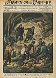 La grande galleria dell'Appennino tosco-emiliano, fra il Setta e il Bisenzio, lunga diciotto …