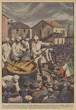 Tra le celebrazioni della polenta che anche quest'anno si sono svolte in varie parti d'Italia …