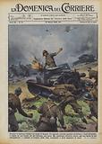 Eroismo di legionari italiani sui campi di Spagna