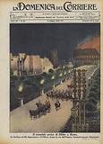 Il trionfale arrivo di Hitler a Roma