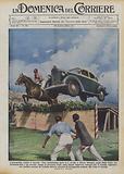 L'automobile contro il cavallo