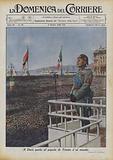 Il Duce parla al popolo di Trieste e al mondo