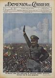 Il Duce che ha salvato il mondo dalla guerra torna tra il suo popolo