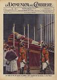 La salma di Pio XI esposta al pubblico nella Cappella del Sacramento, in San Pietro