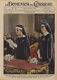 La Principessa Maria di Piemonte, nominata Ispettrice Nazionale della Croce Rossa Italiana …