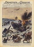 Il bombardamento sul ghiaccio