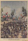 Il festoso ritorno ad Addis Abeba di una gloriosa Brigata che ha partecipato alla conquista della …