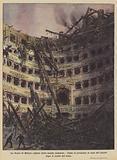 La Scala di Milano colpita dalle bombe nemiche