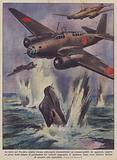 La lotta nel Pacifico contro l'arma subacquea statunitense, un sommergibile in agguato …