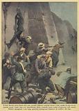 Il forte Braschi, presso Roma, dove sono detenuti numerosi criminali fascisti e stato assalito …