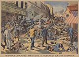 Tragic day of riots in Villeneuve-Saint-Georges, near Paris