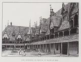 Inner courtyard of the Hospices de Beaune, 15th Century
